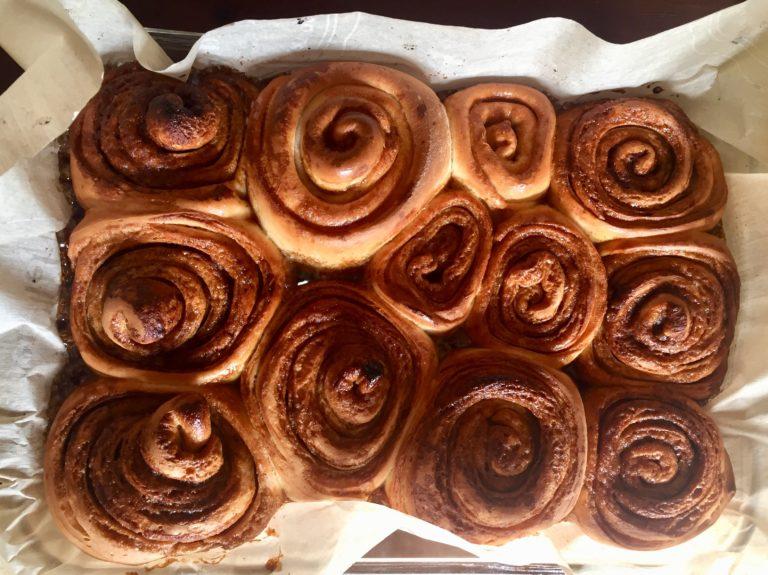 Cinnamon buns!