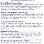 The Five Agreements