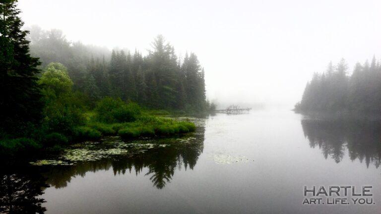 It's a foggissimo morning