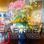 When someone else sees your space through their eyes ... and shares. Water lilies and swamp milkweed in a vase xo xo