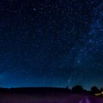 A summer night: comet NEOWISE, the Milky Way and ... home