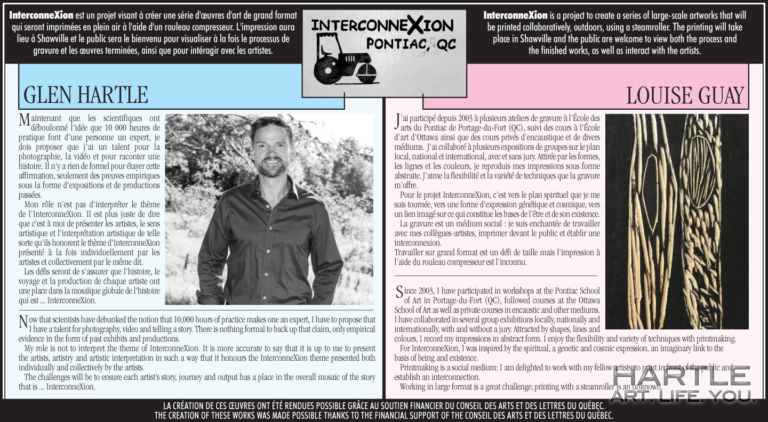 InterconneXion – my blurb is live in the Pontiac Journal!