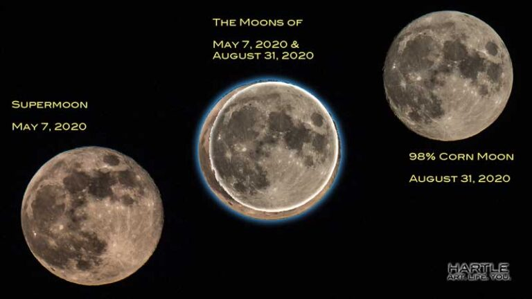 The moon looks small tonight … here's why