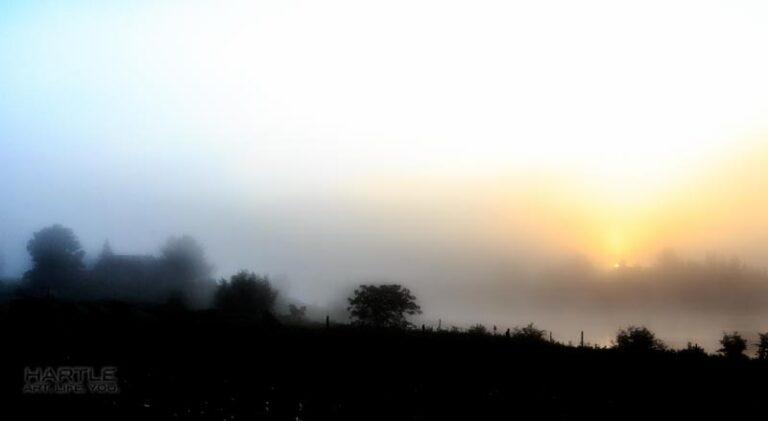 Pea Soup Sunrise