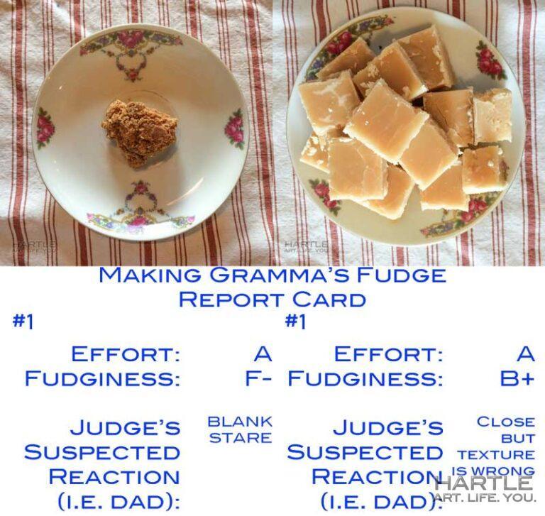 Making Gramma's Peanut Butter Fudge