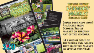 The 2020 Pontiac Farmers' Market: Poetry at 10:30