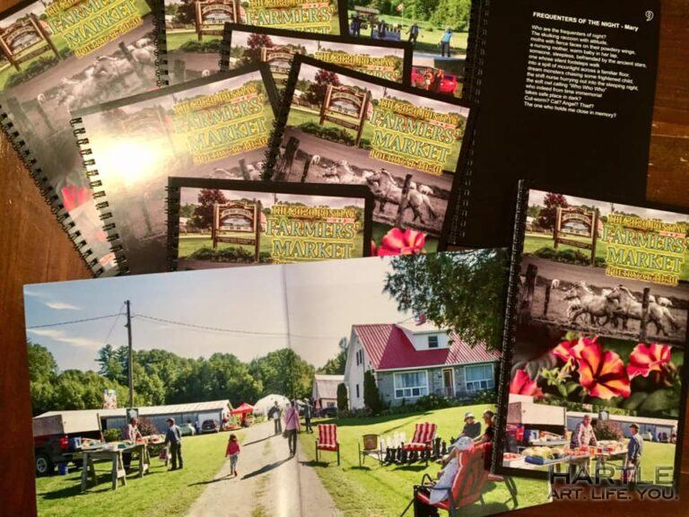 "Whoot whoot! I've got mail!!  The market book and my ""COVID Summer"" in photos"