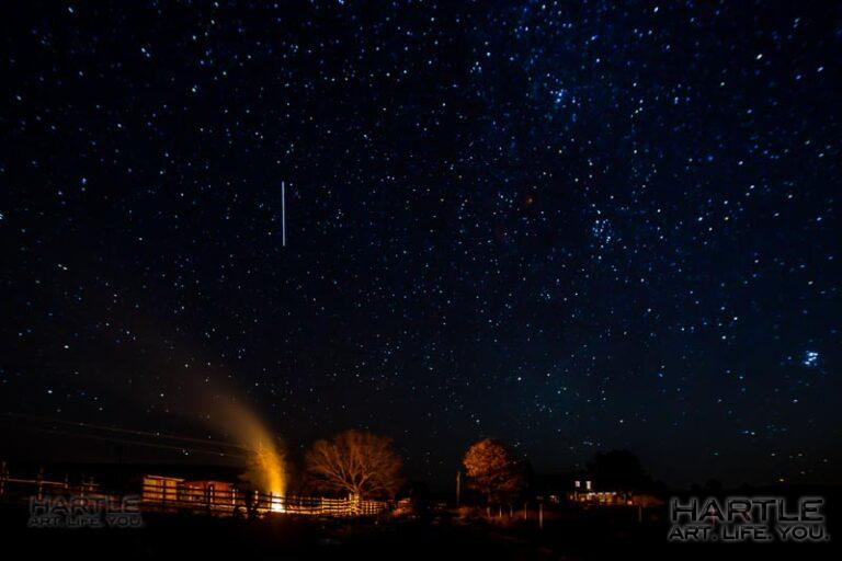 Hitching my wagon to some stars and a bonfire …