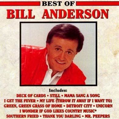 Bill Anderson – Deck of Cards