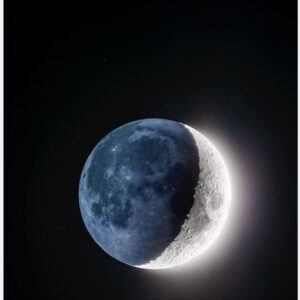 Quite possibly my favourite moon photo ever!