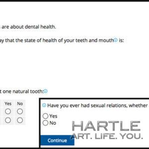 Questionnaire of the Québec Population Health Survey 2020-2021