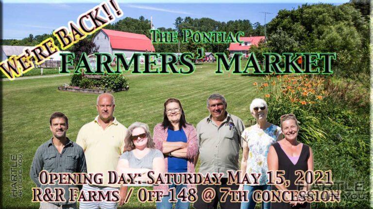 Market poster 01 – We're Back!