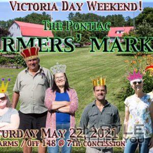 Market poster 02: Come join us tomorrow and celebrate a monarch … whichever one you like