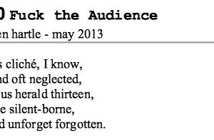 Fuck The Audience