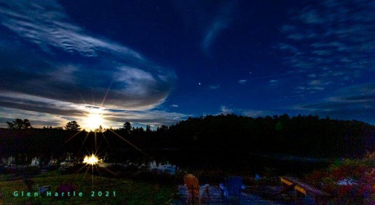 Awoooooooooooo … the full moon feels different tonight …