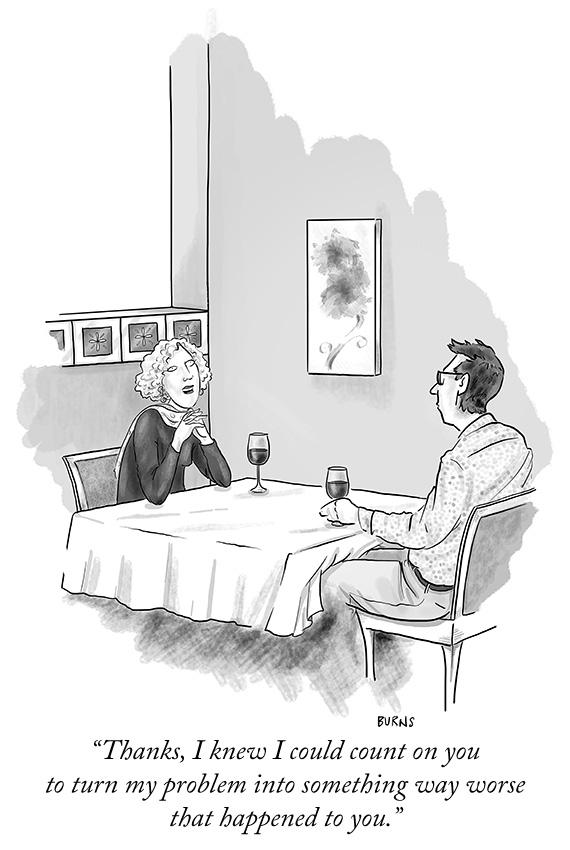 LMAO A cartoon by Teresa Burns Parkhurst. #NewYorkerCartoons