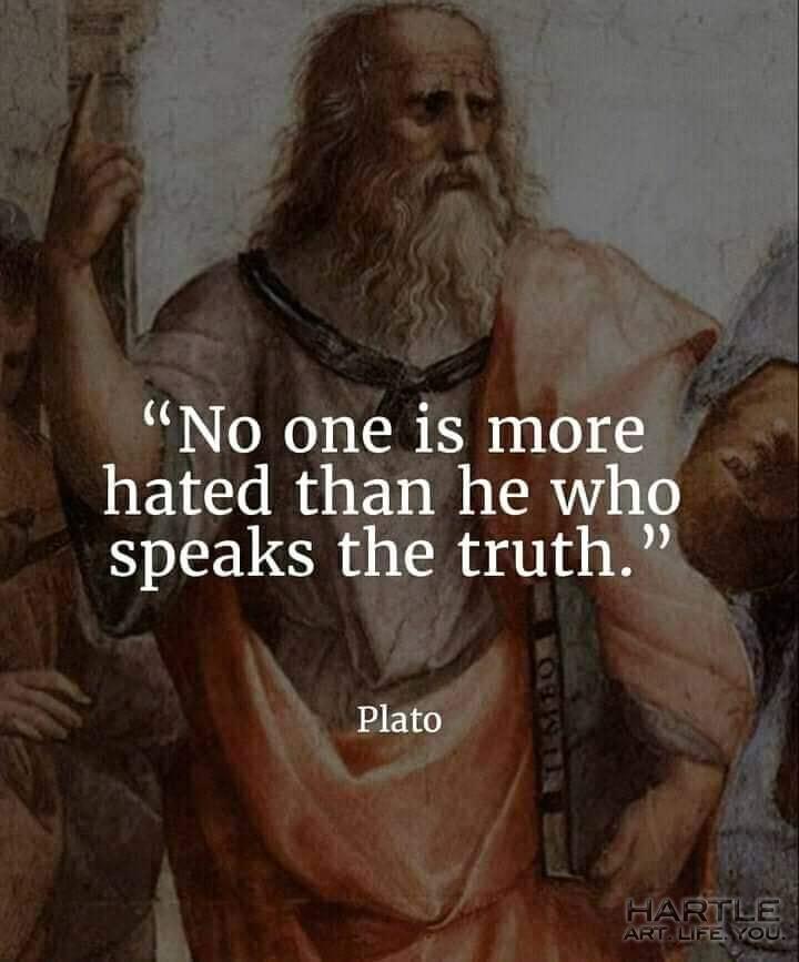 Oh – that Plato …