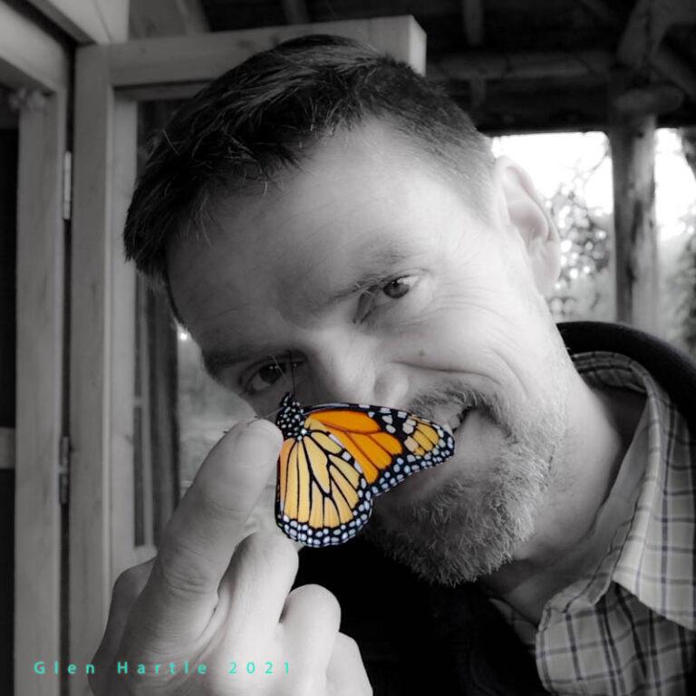 Monarch Butterfly 2021 ~ end of a season