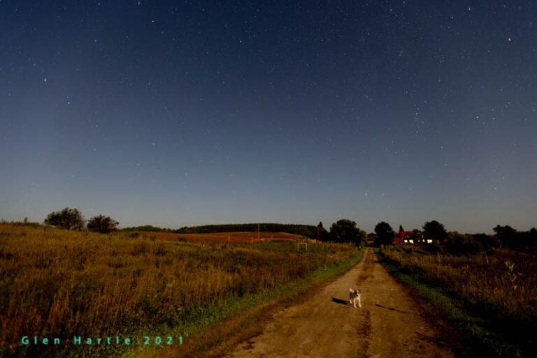 Long Shadows at Midnight